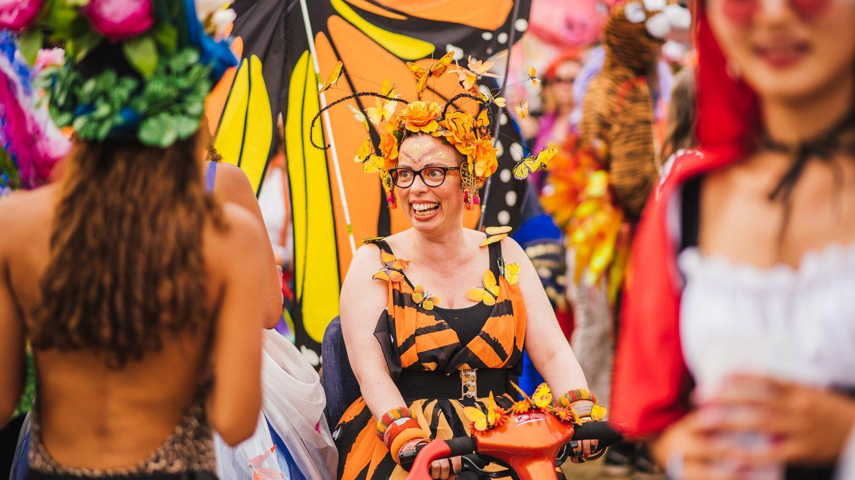 shambala 2018 carnival theme avant garden - Avant Garden